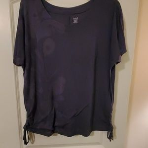 2X Blueish gray Blouse